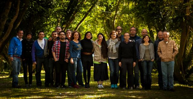 Todos los participantes en la tercera sesión de Nethinking 2013